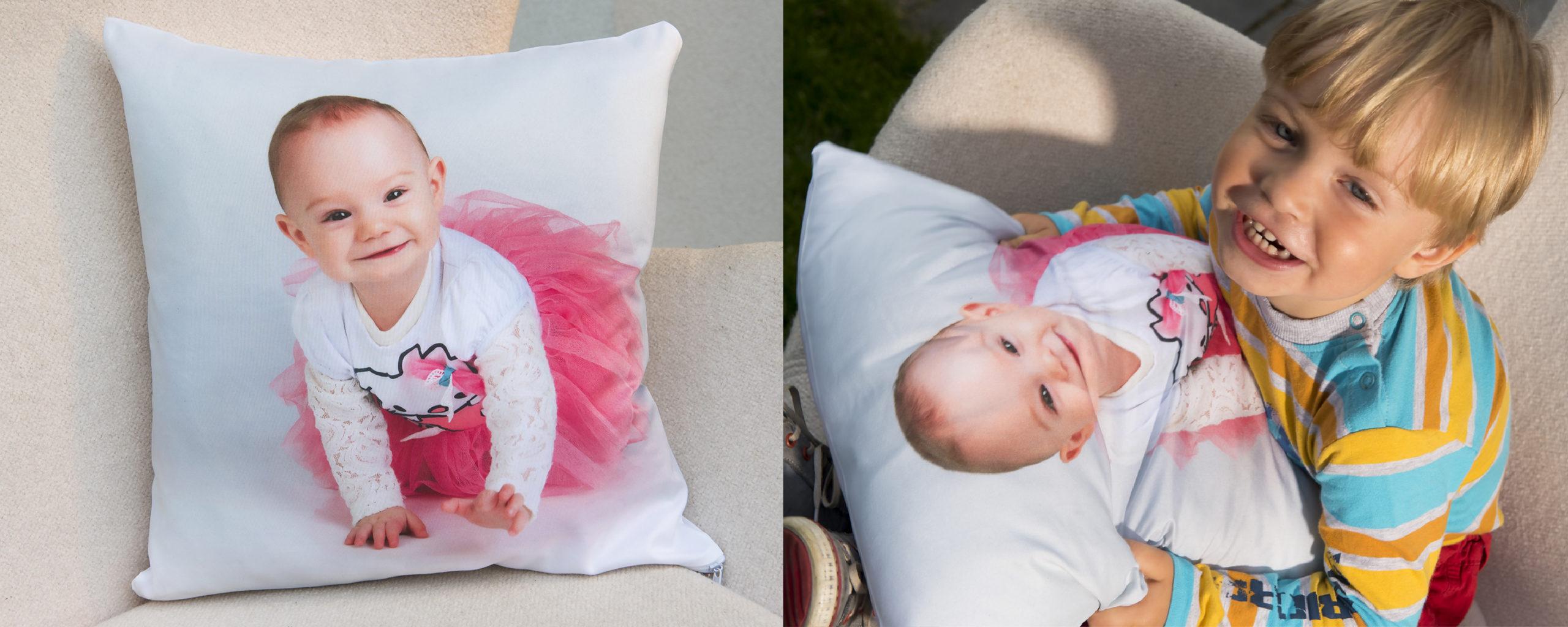 Poduszka ze zdjęciem ILUMINACYJNA - poduszka dzieci