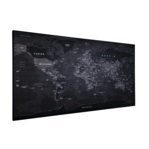 Magnetyczna mapa BLACK