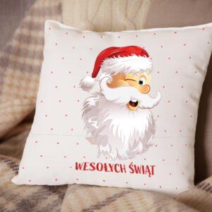 Poduszka Świąteczna Wesołych Świąt D03