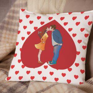 Poduszka Prezent na Walentynki
